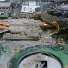 Чистка компьютера PC от пыли в Харькове.